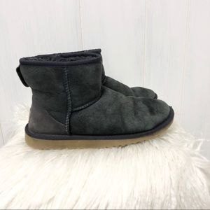 UGG Classic Mini Navy Boots Size 5